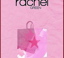 Friends Rachel Green minimalist poster by hannahnicole420