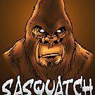 Sasquatch by MetalheadMerch