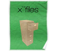 The X-Files minimalist poster Poster