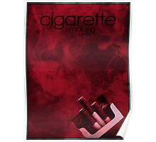X-Files minimalist poster, Cigarette Smoking Man Poster