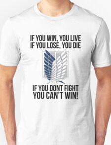 Attack On Titan Eren Shirt T-Shirt