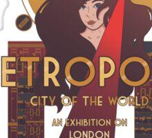 Metropolis: City of the World Sticker