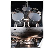 Discovery Shuttle Engines Poster