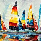 ROYAL REGATTA by Leonid  Afremov