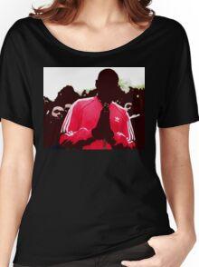Shut Up design. Women's Relaxed Fit T-Shirt