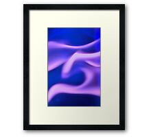 Ghost Flame Framed Print