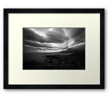 Rhue - Raw Coastline Framed Print