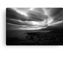 Rhue - Raw Coastline Canvas Print