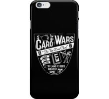 Cards Wars - Floop for Glory! (Adventure Time) (White) iPhone Case/Skin
