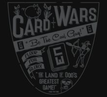 Cards Wars - Floop for Glory! (Adventure Time) (Dark Gray) Kids Clothes