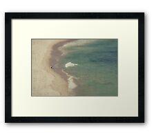 Lone Rider Framed Print