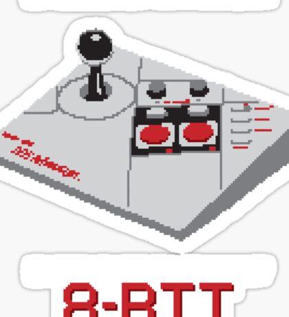 8-Bit Problems Sticker