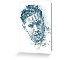 Tom Hardy Greeting Card