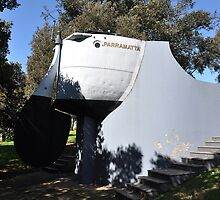 HMAS Parramatta Monument, Australia 2012 by muz2142