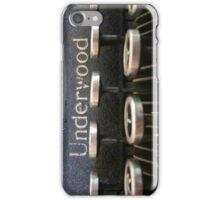 Underwood iPhone Case/Skin