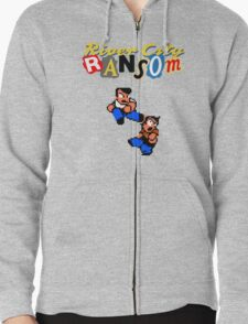 River City Ransom Shirt (Logo w/ 8-Bit Characters) T-Shirt