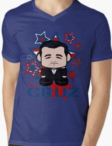 Team Cruz Politico'bot Toy Robot Mens V-Neck T-Shirt