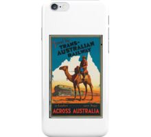 Australia Train iPhone Case/Skin