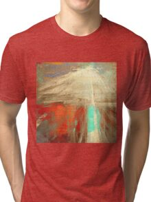 Old man and the Mountain Tri-blend T-Shirt