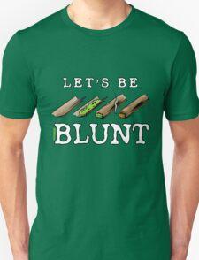 Let's Be Blunt Cartoon Tee T-Shirt
