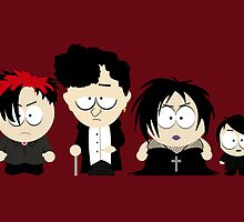 The Goth Kids. by nimbusnought