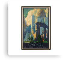 Chicago City Canvas Print