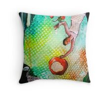 Artist and the Antidote Throw Pillow