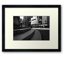 Union Square - Steps Framed Print