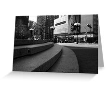 Union Square - Steps Greeting Card