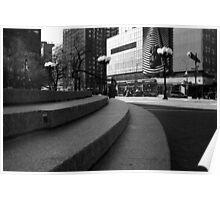Union Square - Steps Poster