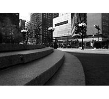 Union Square - Steps Photographic Print