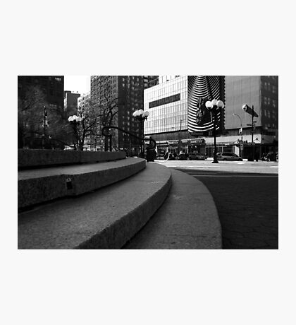 Union Square - Steps Photographic Print
