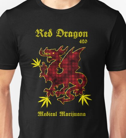 Red Dragon Medical Marijuana Unisex T-Shirt