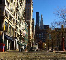 Cobble Stones - Union Square West by Amanda Vontobel Photography