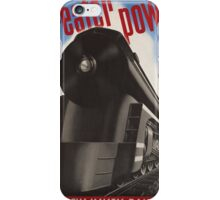 Great Power Train iPhone Case/Skin