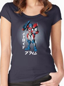 Metroid Prime Women's Fitted Scoop T-Shirt