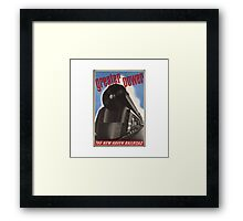 Great Power Train Framed Print