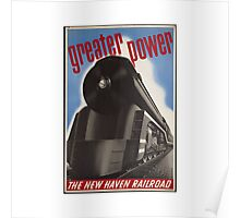 Great Power Train Poster