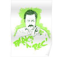 Parks n Rec 420 Poster