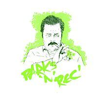Parks n Rec 420 Photographic Print