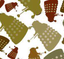 Doctor Who - Mini DALEK Camouflage Sticker