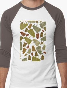 Doctor Who - DALEK Camouflage TEE Men's Baseball ¾ T-Shirt