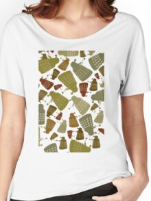 Doctor Who - DALEK Camouflage TEE Women's Relaxed Fit T-Shirt