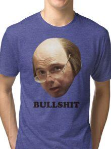 BULLSHIT - Text Tri-blend T-Shirt