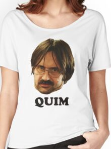 QUIM - Text Women's Relaxed Fit T-Shirt