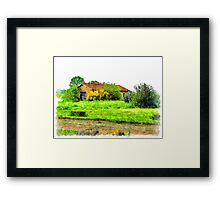 Rural building Framed Print