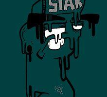 Sheer Melt iPhone 5/5s Dark Teal! by SheerGraphixArt