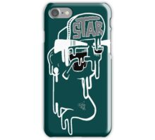 Sheer Melt iPhone 5/5s White Out, Dark Teal! iPhone Case/Skin