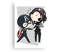 Captain America & The Winter Soldier Canvas Print