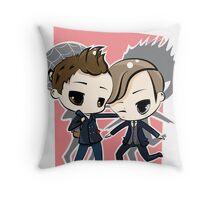 Peter Parker & Harry Osborn Throw Pillow
